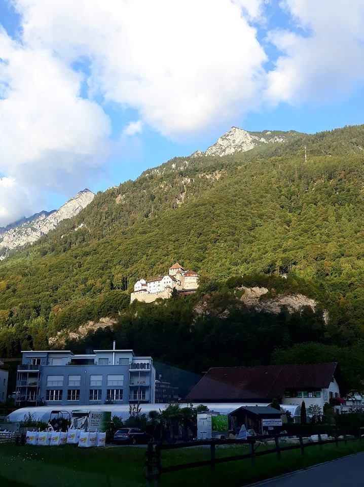 Bilaterale Empfang Im Fürstentum Liechtenstein Der